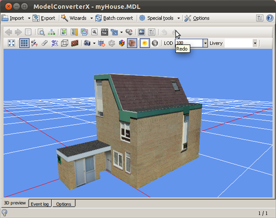 ModelConverterX on Linux | SceneryDesign org