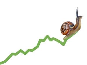 Horizontal snail on chart